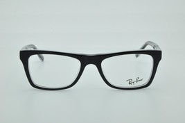Ray-Ban RB 5289 2034 Black on Clear New Authentic Eyeglasses 48mm - 123 - $92.54