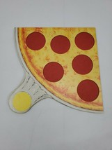 PIZZA PARTY Board Game REPLACEMENT yellow Pizza ONLY Parker Brothers 1987 - $9.95