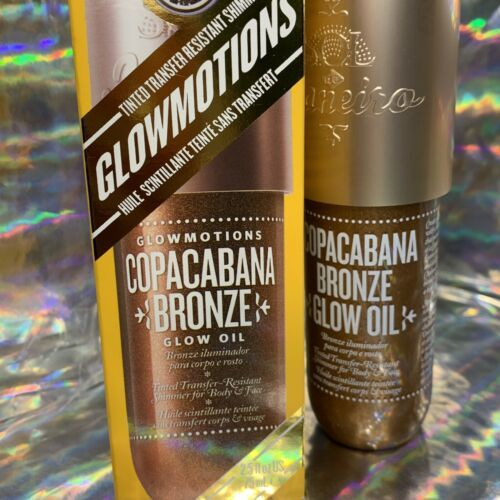 Glowmotions Shimmer Oil For Body Sol de Janeiro Copacabana Bronze Transferproof!