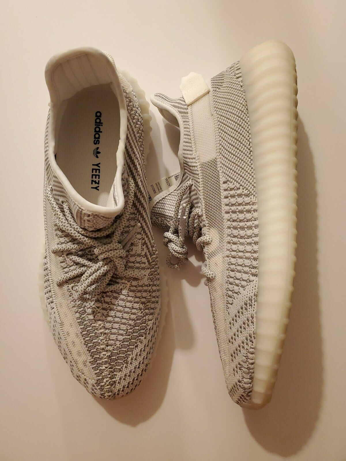 Adidas Yeezy Boost 350 V2 Static EF2905 size 12 non reflective 100% authentic image 6