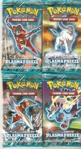 Pokemon Cards - Bw Plasma Freeze - Booster Packs (4 Pack Lot) - $38.96