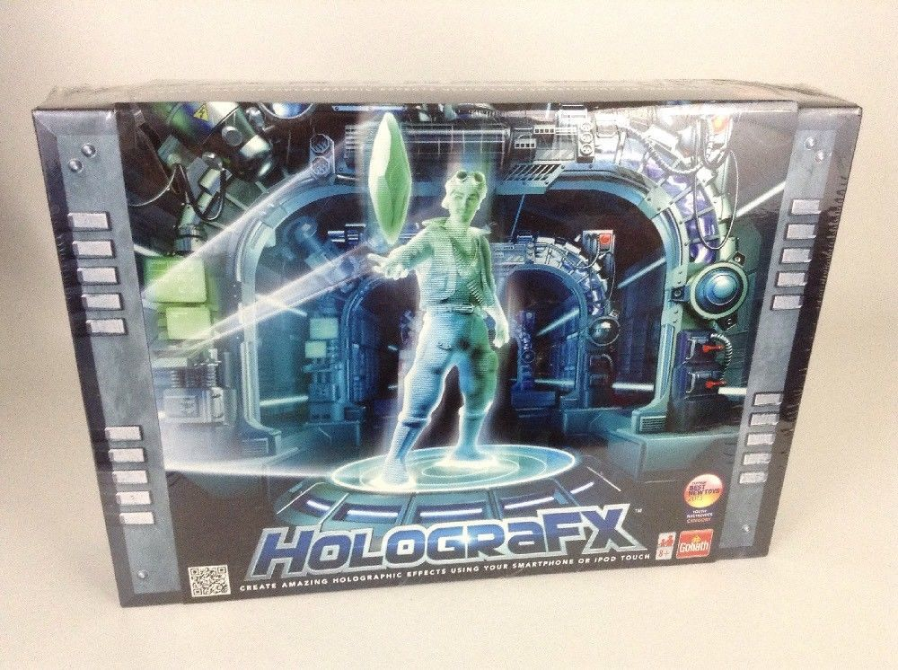 HolograFX Amazing Holographic Magic Trick Set Smart Phone Ipod Touch New Sealed