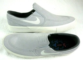 Nike Mens SB Zoom Air Janoski Slip RM Suede Shoes Atmosphere Grey Size 9... - $69.29