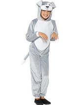 Smiffy's Children's Dog Costume with Hooded Jumpsuit (Small, Grey) - $32.13