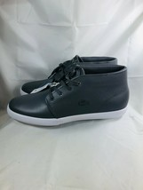 LACOSTE Mens Timeless Fashion ASPARTA 119 Grey Leather Sneakers Shoes Ca... - $69.99