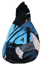 Adidas Load Spring Sling Shoulder Backpack Crossbody Satchel Baby Blue S... - $34.31