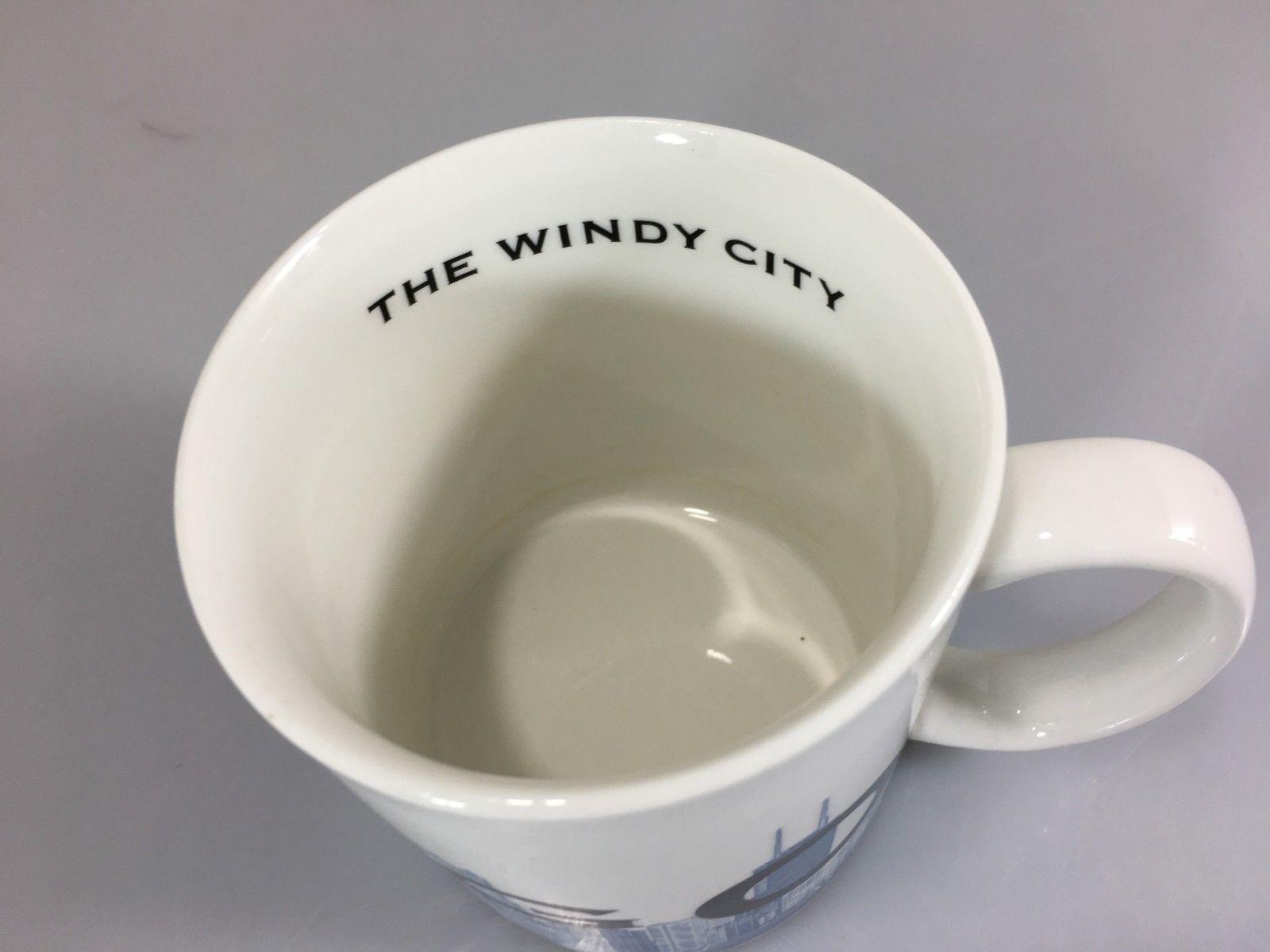 8375fad794f Starbucks Chicago Windy City Skyline Series One Coffee Mug Cup Barista 2002