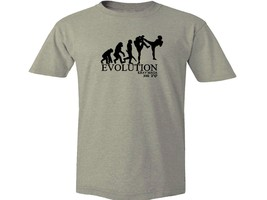 Muay Thai boxing evolution evolve  MMA camel (shade of beige) top t-shirt - $12.99