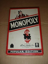 Vintage 1954 Parker Brothers Monopoly Board Game Popular Edition No Board - $32.50