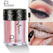 Glitter Eyeshadow Metal Loose Powder Laser oogschaduw Festival Tattoo Ma... - $4.99