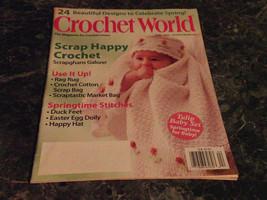 Crochet World Magazine April 2010 Log Cabin Scrapgham - $2.99