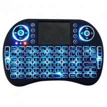 Mini Wireless Keyboard with Touchpad Mouse 2.4GHz LED Backlit Multi-medi... - €21,65 EUR