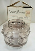 Oster Food Processor Attachment for Oster Blender Kitchen Center 5900-18 - $42.03