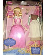 Disney Singing Cinderella Doll with Bonus Outfit A Dream Is A Wish Your ... - $29.99