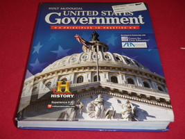United States Government Principles In Practice Student Text Book Hardcover - $44.88