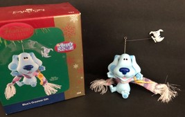 CARLTON CARD 2004 Christmas Tree Ornament Blue's Clues Room Greatest Gift - $14.84