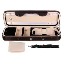 4/4 Violion Box Violin Case with Humidity table Straps locks Waterproof - $349.95