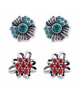 """Snap Charm Mini Petite Snaps 12mm 1/2"""" Diameter Includes Two Pairs Shown... - $14.98"""