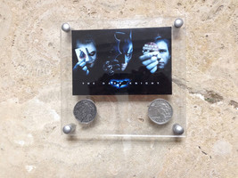 Batman Begins Two-Face's Double Sided Coins with Designer Acrylic Frame - $79.19