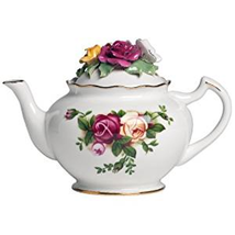 NEW IN THE BOX Royal Albert Old Country Roses Rose Bouquet Teapot - $130.89