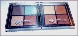 2 X NEW Factory Sealed JORDANA Eyeshadow Quad  Harmony #06  Golden Era #01 - $7.95