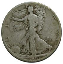 1921S Walking Liberty Half Dollar 90% Silver Coin Lot# EA 269