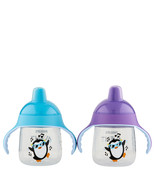 Philips Avent My Little Sippy Cup Purple & Teal 9 oz   - $14.85
