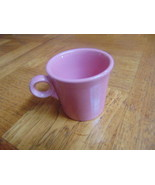 FIESTAWARE HOMER LAUGHLIN 2 COFFEE MUGS/CUPS-PINK-CINNAMON-PAPRIKA/PERSI... - $17.35