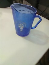 Vintage Cobalt Blue Shirley Temple Small Pitcher - $4.59