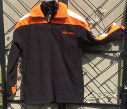 Harley Davidson Motorcycle Men's XS JACKET Polyester w/ Full Mesh Lining - $35.17