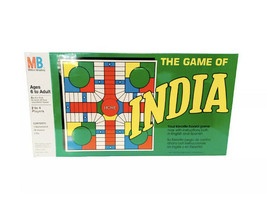 Vintage Board Game INDIA by Milton Bradley BRAND NEW SEALED - $27.22