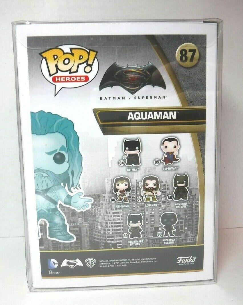 Funko Pop! Heroes Aquaman #87 Hot Topic Exclusive New Batman Vs. Superman