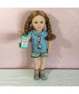 "My Life As 18"" Doll Camp Counselor Brown Hair Camp Schedule Whistle  - $32.12"