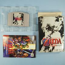 Zelda: Ocarina of TIme ~ Complete in Box CIB (Nintendo 64 N64, 1998) Japan - $29.82