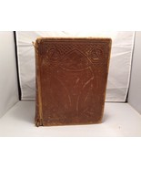 Antique Leather Bound Webster Dictionary  - $1,287.00