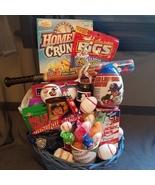 Baseball Themed Gift Basket - $60.00