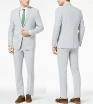 Lauren Ralph Lauren Men's Classic-Fit UltraFlex Seersucker Suit, 40S, 34W , $600 - $296.99