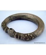 vintage antique tribal old silver Bracelet Bangle traditional jewellery - $173.25