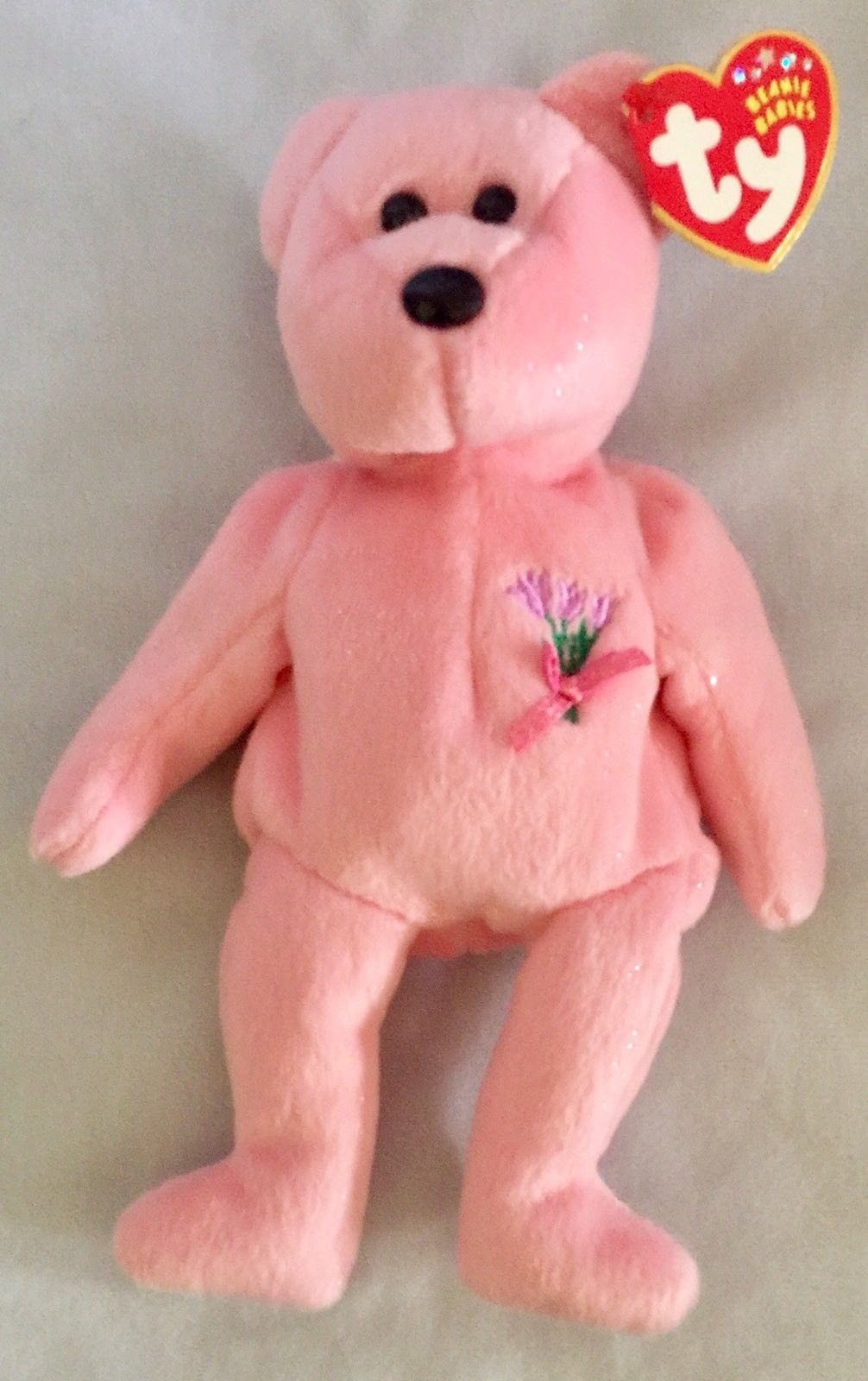 """35808bd06d2 8"""" Ty Beanie Baby Mum The Pink Bear Plush and 22 similar items"""