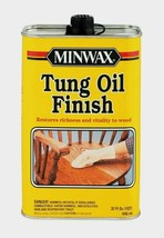 Minwax TUNG OIL 1 qt. Transparent Amber Oil-Based Restore Richness Wood ... - $22.59