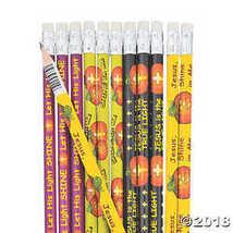 Christian Halloween Alternative Pumpkin Pencils - $5.74