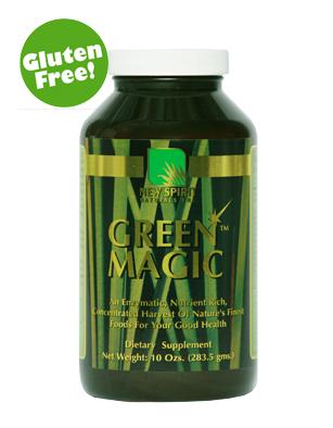 New Spirit Naturals Green Magic Super Green Food Capsules (300 Caps) - $50.58