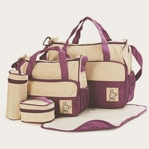 2 DIAPER BAGS  -  Baby Girl Boy DIAPER BAG and Pad - 5 Pieces - $28.99
