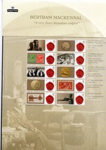 GB 2013 Bertram Mackennal smiler sheet MNH stamps. Includes insert. VGC - $14.42