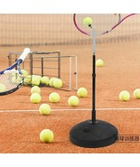 Plastic Tennis Ball Machine Portable Trainer Serving Practice Tool For B... - $87.07