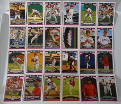 2006 Topps Series 1 & 2 Los Angeles Angels Team Set of 24 Baseball Cards - $2.00