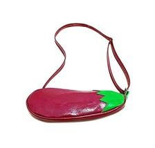 PANDA SUPERSTORE Cute Cartoon Eggplant Child Messenger Bag/Purse