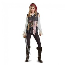 Disguise PoTC5 Captain Jack Sparrow Female Adult Womens Halloween Costum... - $49.99