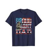 New Shirts - Proud Army National Guard Dad T Shirt USA Patriotism Father... - $19.95+