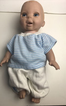 Luvabella Interactive Baby Doll Boy Talks Eyes Open Close Fascial Expres... - $64.35